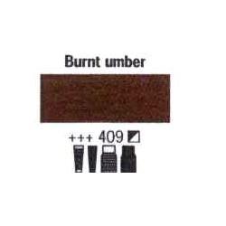 Acrylfärg Burnt umber nr 409