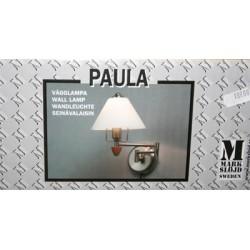 Vägglampa/lampor Paula