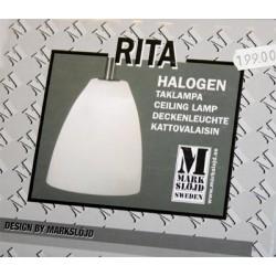 Taklampa/lampor halogen Rita