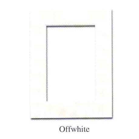 Passepartouter 21x29,7cm(A4) offwhite