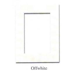 Passepartouter 24x30 cm offwhite