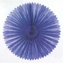 Dekorsol i blått 120 cm