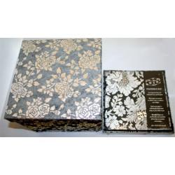 Box Silver Mellan 25x25x24cm