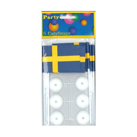 6-p partyflaggor