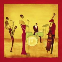 Ona: Jazz band 30x30cm