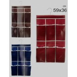 Förvaringsfickor textil 59x36cm