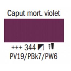 Acrylfärg Caput mortuum violet nr 344