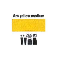 Acrylfärg Azo yellow medium nr 269