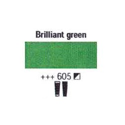 Acrylfärg Brilliant green nr 605