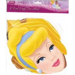 4-pk pappersmask Princess