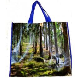 Shoppingväska skogsmotiv