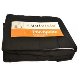 Sängöverkast Univisio svart 150x250cm