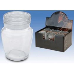 Glasburk med glaslock 150ml