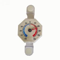 8-kantig termometer utomhus