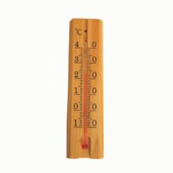 Termometer inomhus trä