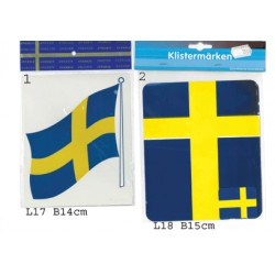 Svenska Flaggan stickers