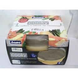 1,8L skål för tilllagning i microugn