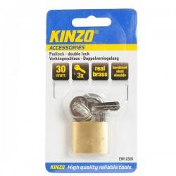 Hänglås 30mm 3 nycklar