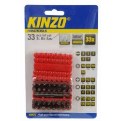 KINZO - Bit Set CRV 33 delar