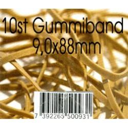 10 st gummiband 9,0x88mm