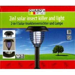Solcellslampa och insektsdödare