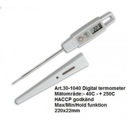 Digital instickstermometer