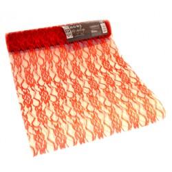 Dekorrulle röd 30x500cm