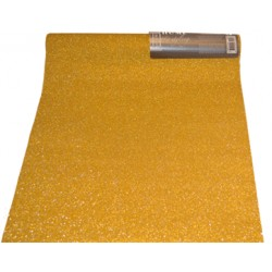 Dekorrulle guld 28x250cm