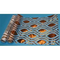 Dekorrulle organza brun 30x500cm