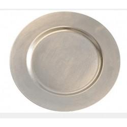 Underläggstallrik 33cm silver