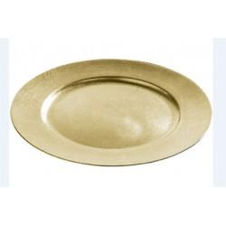 Underläggstallrik 33cm guld
