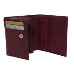 Plånbok i kalvskinn 10,5 x 8,5cm