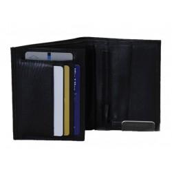 Plånbok i kalvskinn 11,5 x 9cm