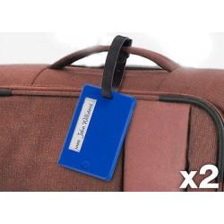 2pk bagagelappar