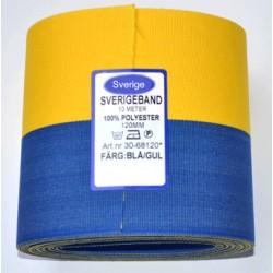 Sverigeband Längd10meter bredd 120mm