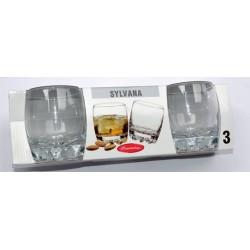 3pk whisky glas Sylvana