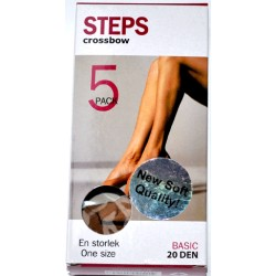 5-Pack Steps Ljusamber