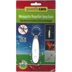 Myggbekämpare med ficklampa och nyckelring