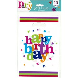 10stk partypåse Happy birthday