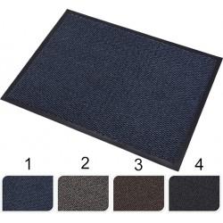 Dörrmatta i gummi och textil 60x40cm i fyra färger