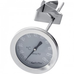 Stektermometer med klämma gastromax