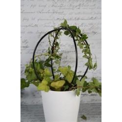 Plantstöd svart H25cm