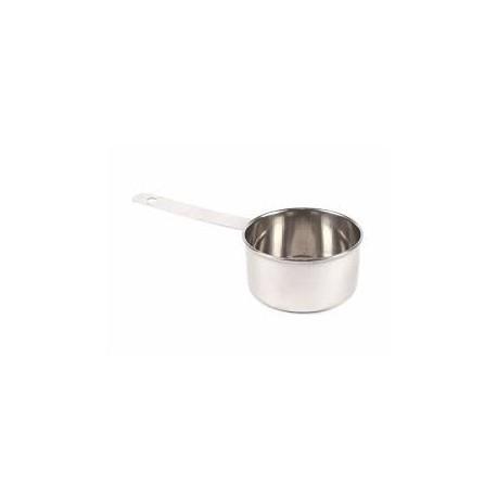 Liten mjölkkastrull i stål 300ml Ø10cm djup 5cm