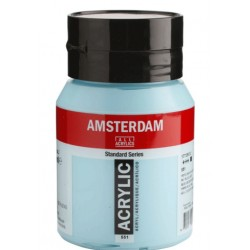 Amsterdam acrylfärg 500ml sky blue light 551