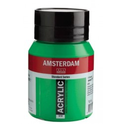 Amsterdam acrylfärg 500ml Permanent green light 618