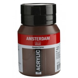 Amsterdam acrylfärg 500ml Burnt umber 409