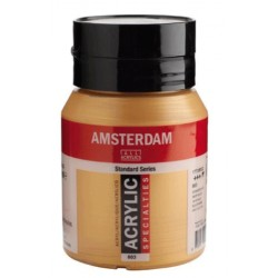 Amsterdam acrylfärg 500ml deep gold 803