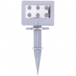 6stk Ledjus med rörelsedetektor för innomhus och utomhus