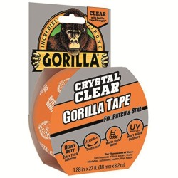 Gorilla transparent reparationstejp