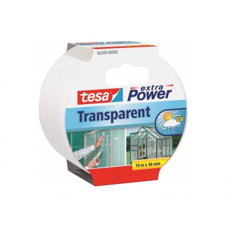 Tesa transparent reparationstejp 10m
